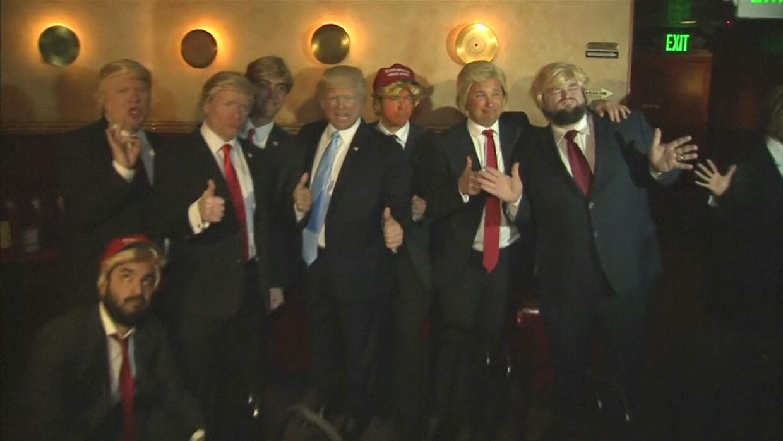 Una decena de 'Trumps' compitió para hacerse con el título de mejor imit...