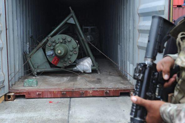 Las autoridades panameñas mantuvieron retenida y sometieron a un...