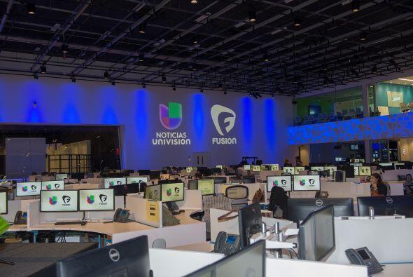 Univision inauguró este miércoles  su nuevo edificio de Noticias llamado...