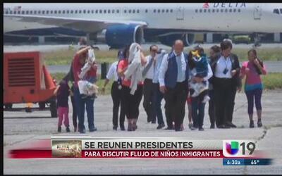 Flujo de niños en la frontera