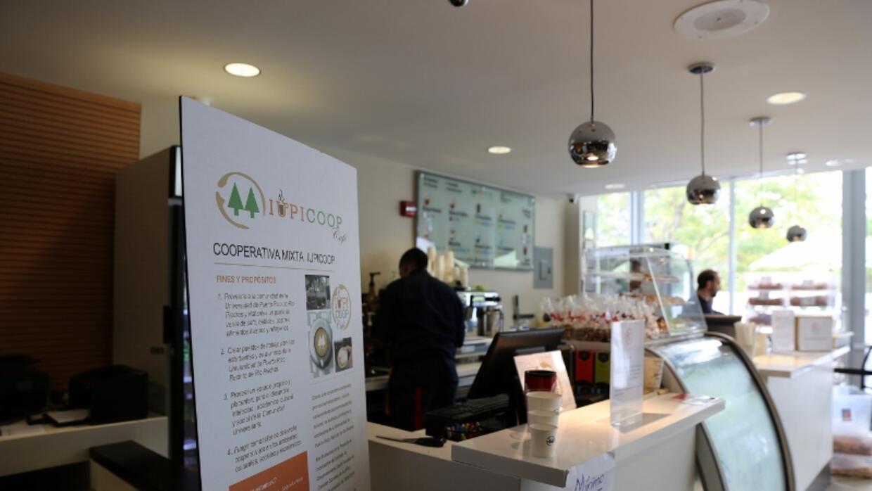 Cafetería cooperativista en la UPR de Río Piedras