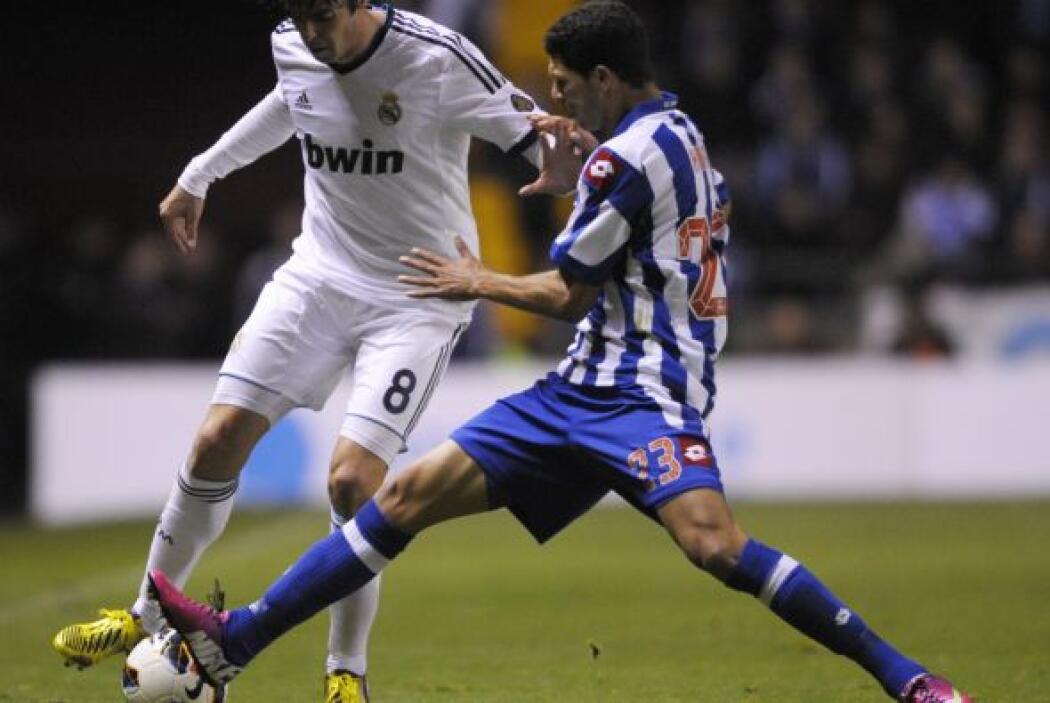Kaká salió de titular y fue el mejor del partido.