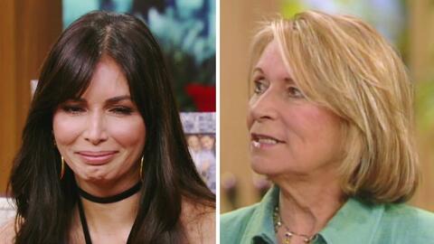 Giselle Blondet se emocionó al recordar a su mamá en Despierta América