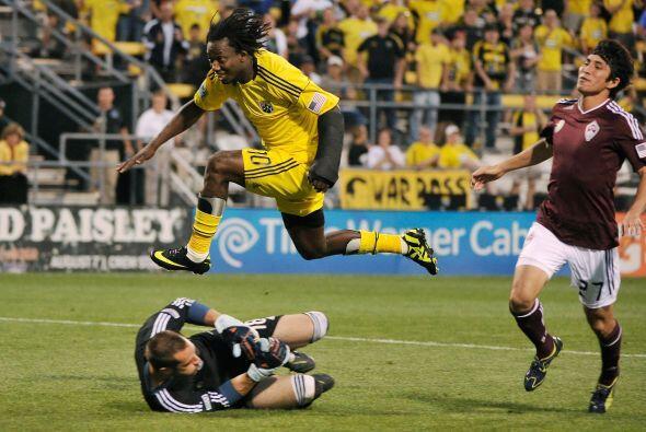 """El """"Condor"""" Mendoza demostró que es bueno para volar en la MLS."""