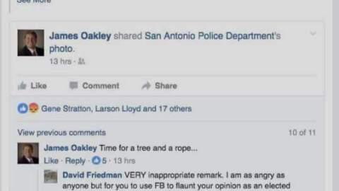 Comentario del juez James Oakley