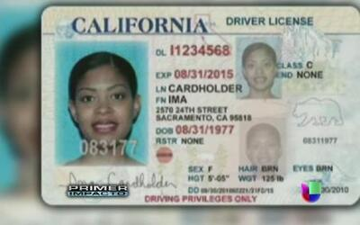 Licencias para indocumentados en California