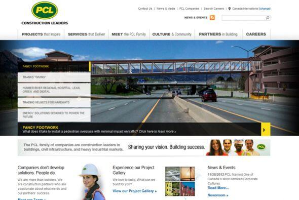 29. PCL CONSTRUCTION ENTERPRISES-  Número de empleados-1,262.  In...