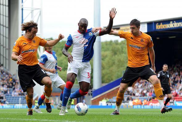 En otro de los partidos, Wolverhampton venció 2 a 1 al Blackburn...