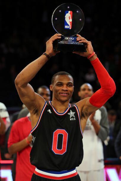 Aún más impresionante, Westbrook es el líder en ano...