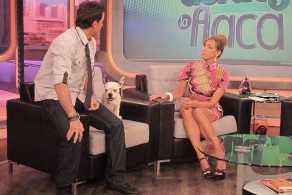 """Mane llegó con Venancio, su pequeño perrito, para hacer el """"Manepaso""""."""