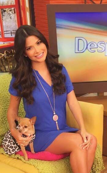 """""""Bueno días desde Despierta América"""", deseó Ana Patricia. (Febrero 10, 2..."""