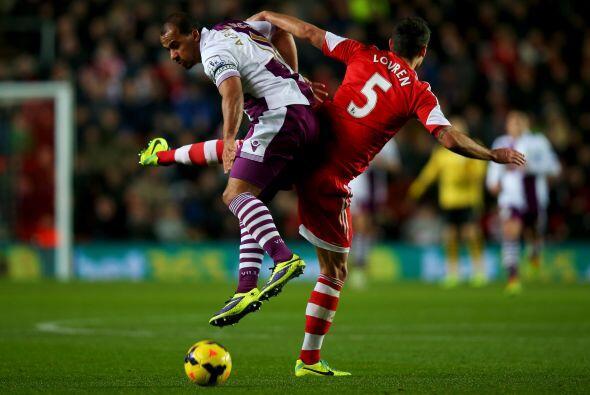 Aston Villa tenía una visita complicada ante el Southampton.