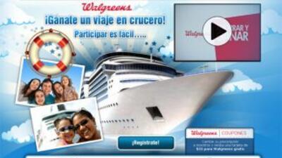 Crucero con Wallgreen.