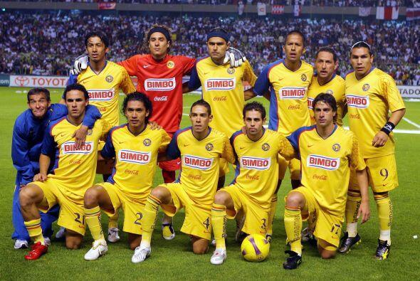Para el 2008, América se metió al Estadio Maracaná...