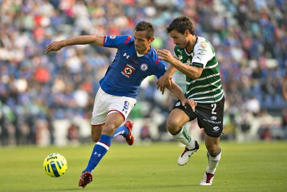 Cruz Azul no podrá contar con el paraguayo Roque Santa Cruz quien...