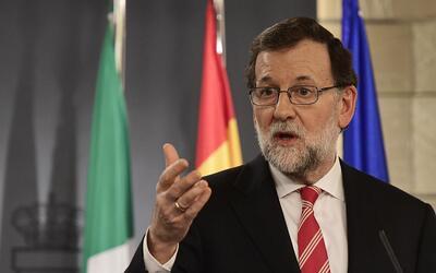 Mariano Rajoy, presidente de Gobierno español