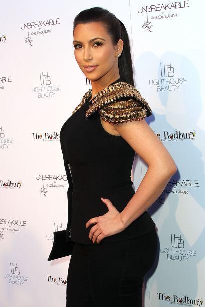Kardashian se ha convertido en una de las celebridades más buscadas y fo...