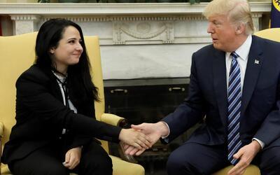 Donald Trump medió por la liberación de una mujer con nacionalidad de EE...