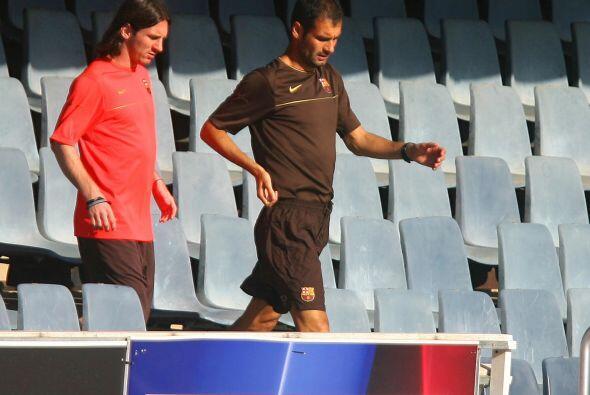 Guardiola, de a poco, se fue transformando en el modelo de Lionel Messi.