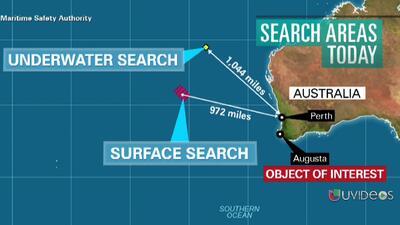 """Un """"objeto de interés"""" aparece en la búsqueda del avión de Malasia"""