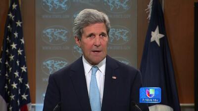 John Kerry llega a Irak para buscar apoyo contra ISIS