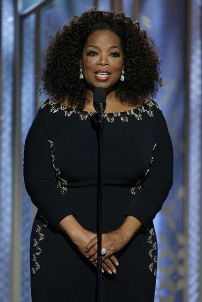 Oprah Winfrey presentó 'Selma'