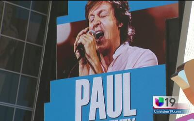 Paul McCartney protagoniza la apertura del Golden 1 Center