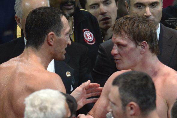 Klitschko ganó sin dudas. Povetkin se quedó con las ganas.