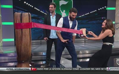 Renata Notni y Patricio Borghetti ganaron 2,500 dólares jugando a la res...