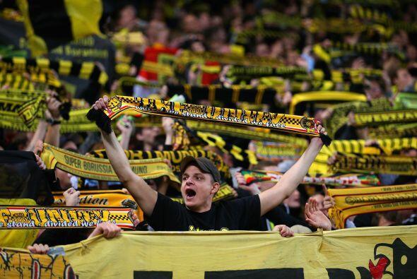 Una definición de Marco Reus valió para el 1-0 en favor del Dortmund.