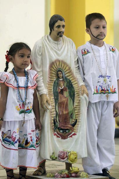 San Juan Diego de Cauhtlatoazin, santo mexicano. Nació en el año 1474 y...