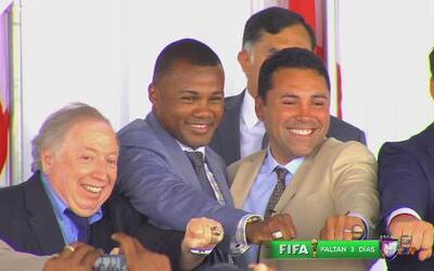 Oscar De la Hoya y Félix Trinidad exaltados al Salón de la Fama del Boxeo