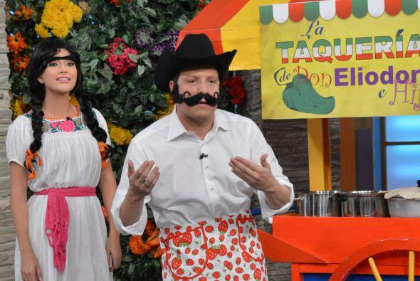 Su comida favorita son los tacos, aunque no los tacos de Don Heliodoro e...