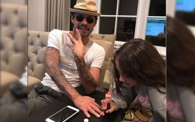 ¡Marc Anthony es un gran papá! Dejó que su hija Emma...
