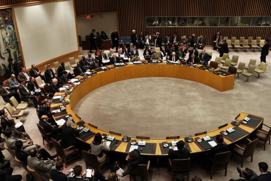 La reunión del Consejo de Seguridad de la ONU se realizó en la ciudad de...