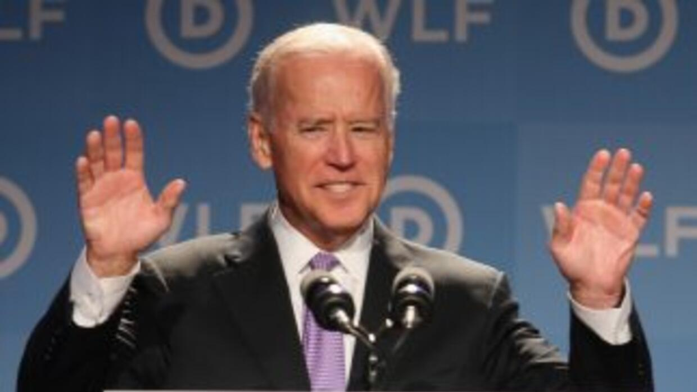 El Vicepresidente de Estados Unidos, Joe Biden.