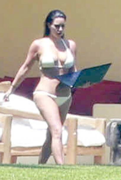 Kim no sólo es una estrella de televisión, es una empresaria.Mira aquí l...