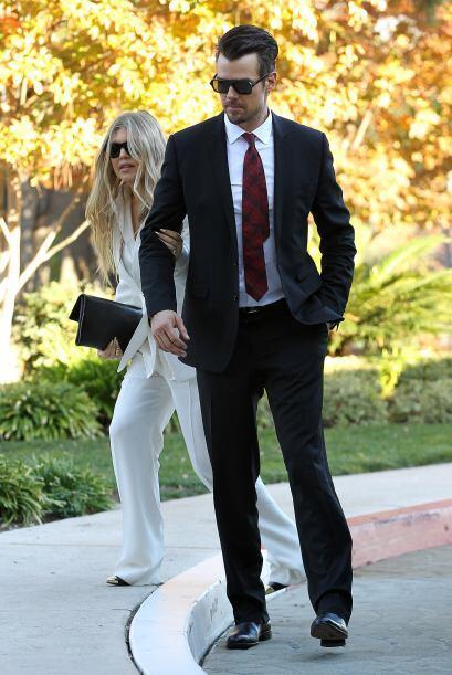 Fergie y Josh Duhamel se vistieron de gala para una importante ocasión....