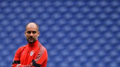 Guardiola se quedó sin equipo médico.