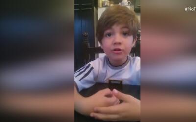Video de niño argentino que le pide a Lionel Messi que no deje la selecc...