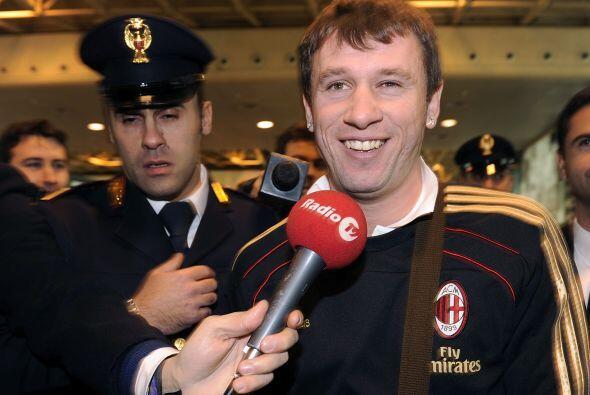 Y fue el Milan quien levantó la mano y se decidió por firmarlo para ocup...