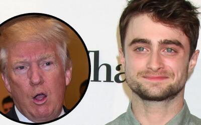 Daniel Radcliffe critica a Donald Trump