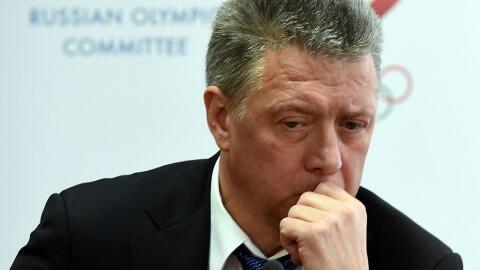 Dmitry Shlyakhtin, presidente de la Federación de Atletismo de Rusia
