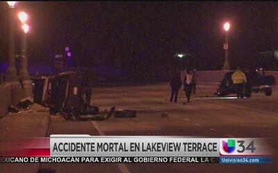 Accidente mortal en Lakeview Terrace