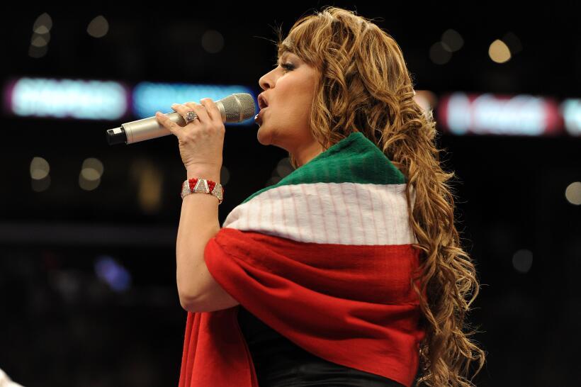 Natalia Jiménez hará un álbum homenaje a Jenni Rivera GettyImages-104257...