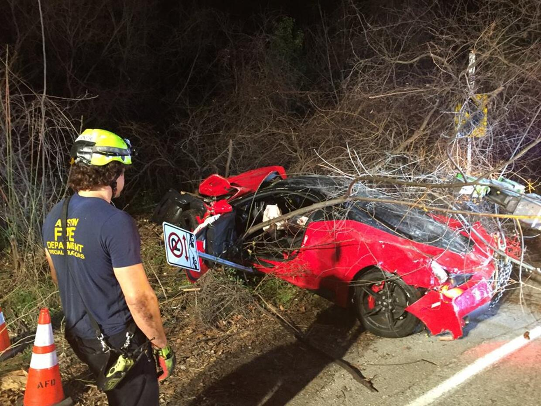 Accidente Ferrari 458 Speciale en Texas