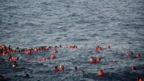 Más de 30 inmigrantes, la mayoría niños, mueren ahogados en el Mediterráneo