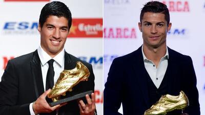 Los delanteros charrúa y portugués ganaron la Bota de Oro 2014 y ahora c...