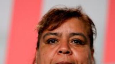 La activista sufrió una lesión en el rostro producto del ataque.