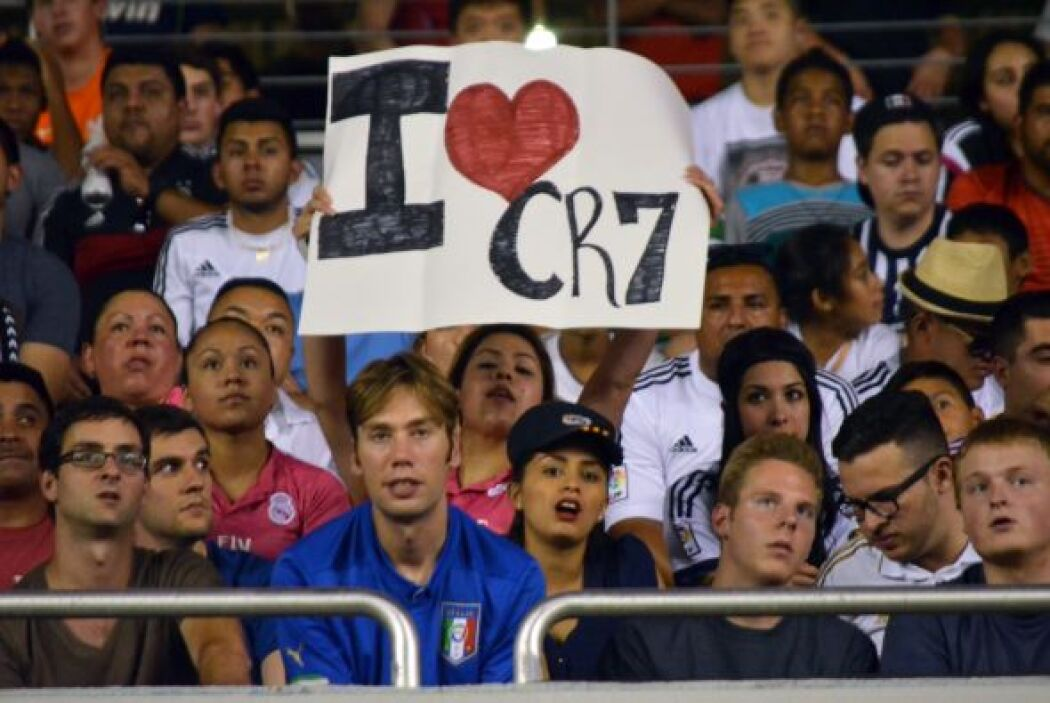 Fans CR7 Dallas